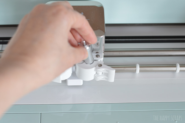 Have you ever wondered How To Change Your Cricut Explore Blade? I'm showing you just how easy it is. I've got the tutorial on the blog.
