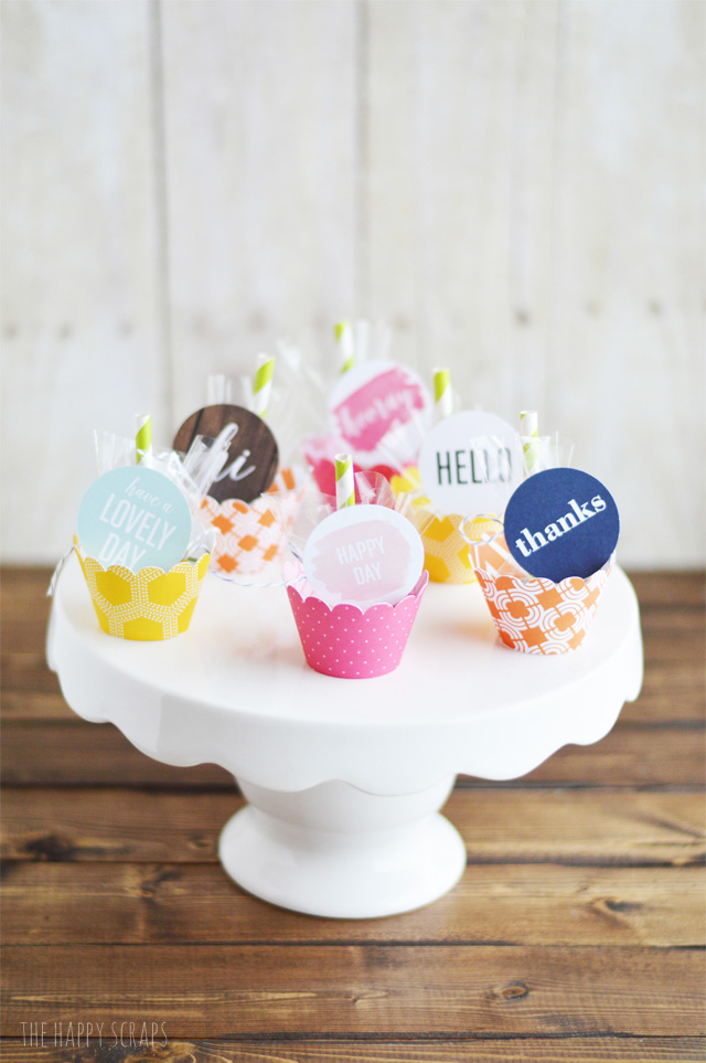You'll love putting these cute little Mini Umbrella Spring Treats together to give to your kids, spouse, friends, & neighbors.