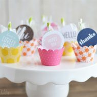 Mini Umbrella Spring Treats