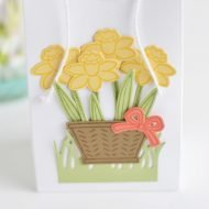Basket of Flowers – Thank You Gift