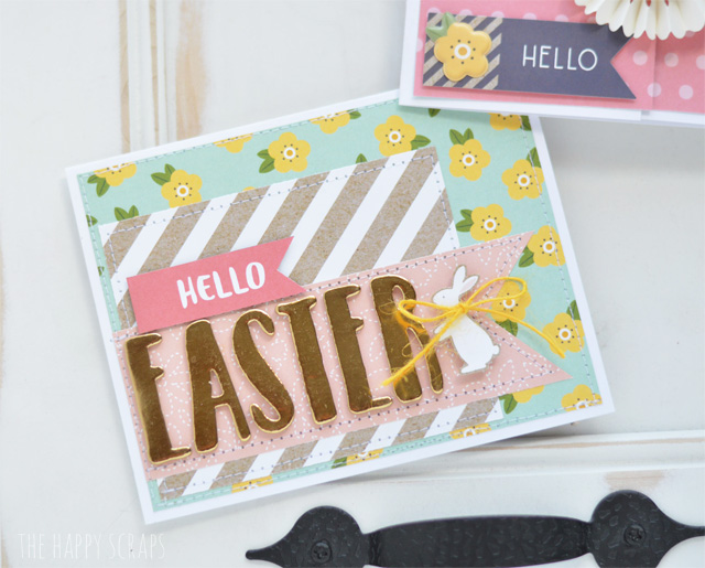 Whether you're wanting to wish a friend or family member a Happy Easter, these simple to make Happy Easter Cards are the perfect way to do it.