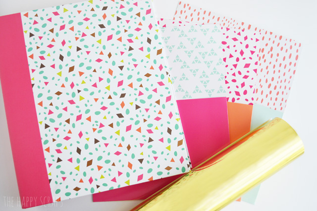 creating a pretty budget binder the happy scraps