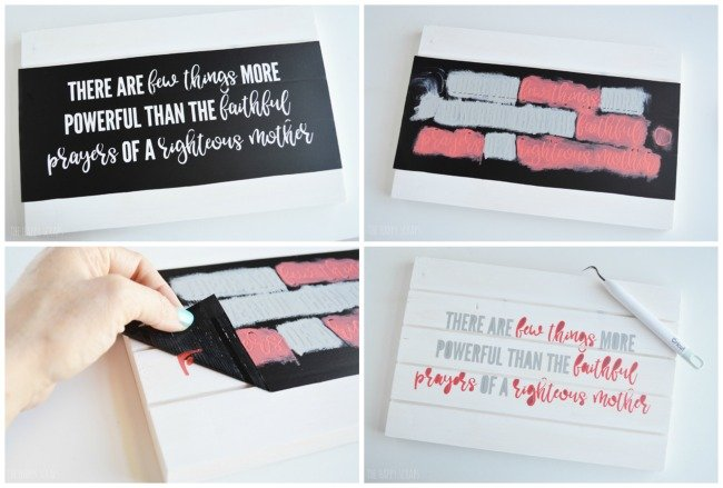 This Mother's Day Sign Gift Idea will make mom smile on Mother's Day.