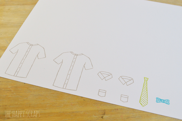 Create this fun Father's Day Garland to help celebrate Father's Day. Use it as decor on the front of a serving table, or hang it as a banner.