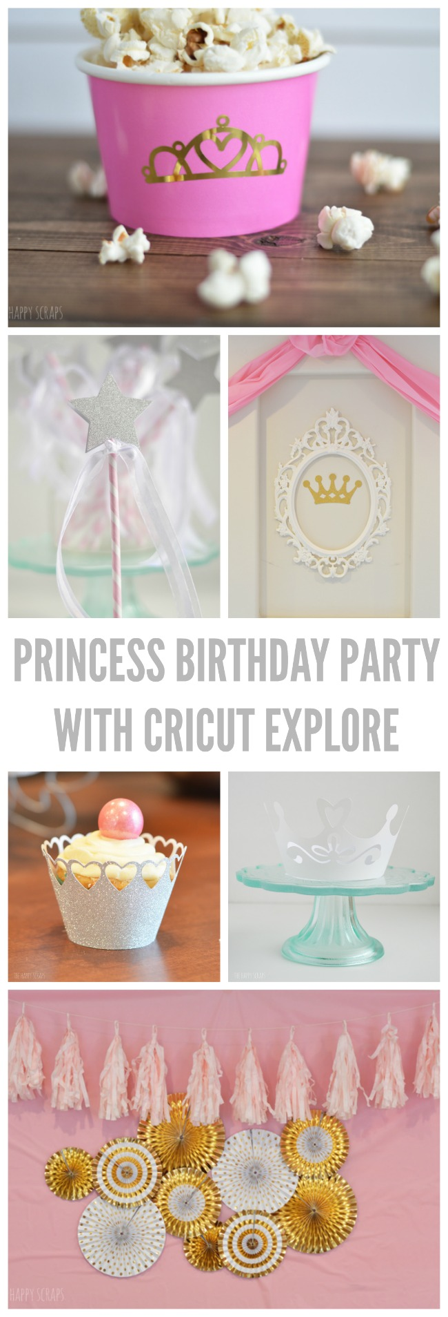 Putting together a birthday party has never been so easy! Stop by and check out this Princess Birthday Party with Cricut Explore today!