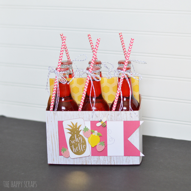 Put together some Dressed Up Summer Soda for your next backyard barbecue or summer picnic. It's the perfect and fun addition!