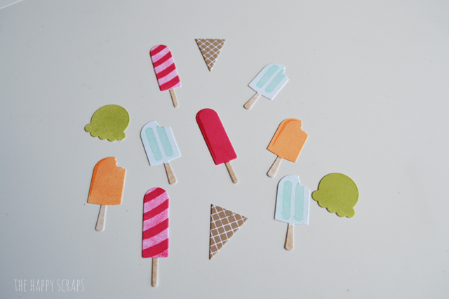 These Cool Treats Cards are fun and easy to put together using the Cool Treats Stamp Set along with the Frozen Treats Framelits Dies from Stampin' Up!