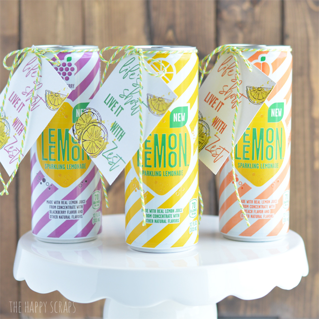If you are looking for a little gift for someone for no special reason, then this Lemonade Gift with Printable Gift Tag is just for you. It's on the blog!