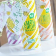 Lemonade Gift with Printable Gift Tag
