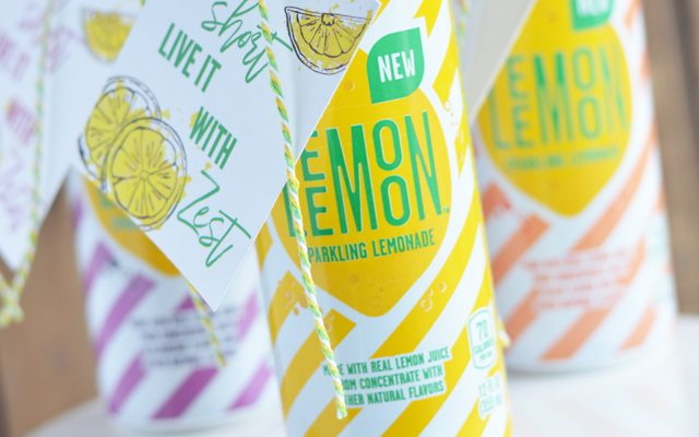 Lemonade Gift with Printable Gift Tag