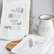 Farmhouse Inspired Kitchen Towels