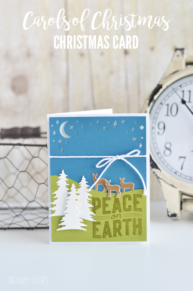 create this fun carols of christmas christmas card and have your cards all ready for - Create Christmas Cards