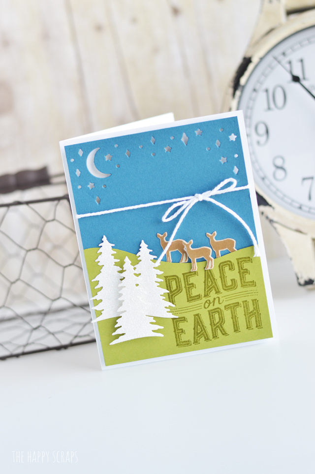 Create this fun Carols of Christmas - Christmas Card and have your cards all ready for the holidays before the holidays get here!