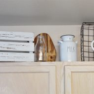 Farmhouse Inspired Kitchen Decor
