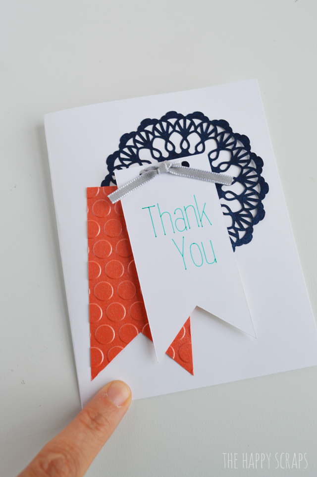 Putting together these Thank you cards is fun & easy. Today I'm sharing these cards along with the cut file so you can make some of your own.