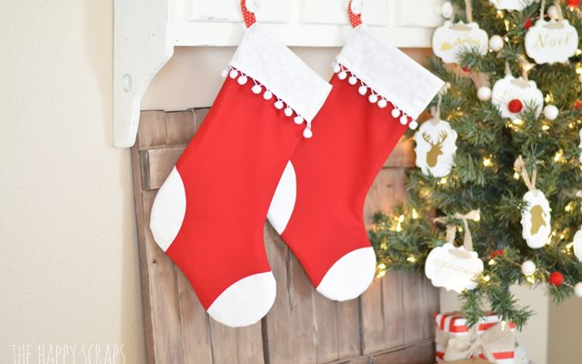 Handmade Christmas Stockings with the Cricut Maker