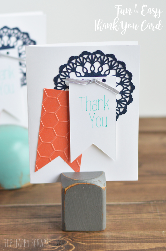 Fun Easy Thank You Cards The Happy Scraps