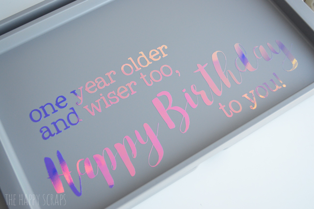 If you enjoy celebrating birthdays, then you need to make a Breakfast in Bed Happy Birthday Tray. Your family will love the new tradition!
