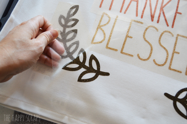 Pillow making is so fun! Check out the instructions for making this Grateful Thankful Blessed Thanksgiving Pillow to make and display in your home.