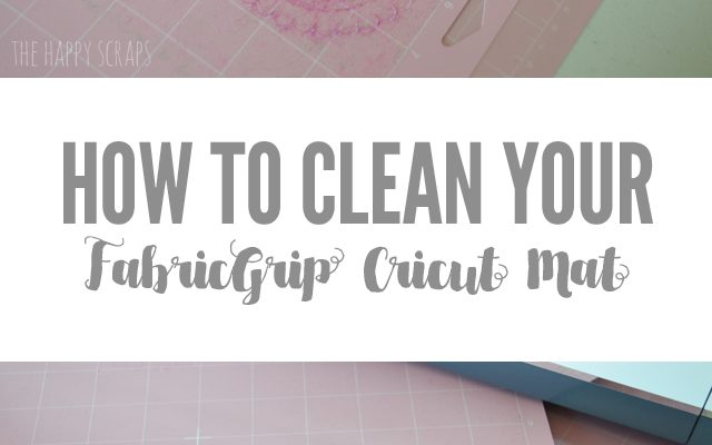 How to Clean Your FabricGrip Cricut Mat