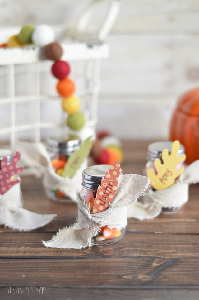 Thanksgiving is almost here! If you're looking for place cards at the last minute, then give these Quick & Easy Thanksgiving Place Cards a try!