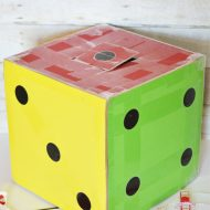 Giant Dice Valentine Box