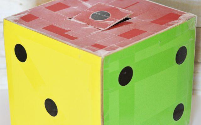 Giant Dice Valentine Box