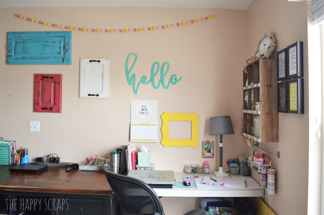 There are so many things that go into creating a Cute & Functional Craft Room on a Budget. Today I'm sharing my craft room and sharing how I was able to do it on a tight budget.