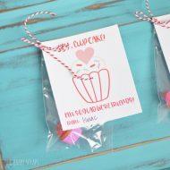 Hey, Cupcake Classroom Valentine