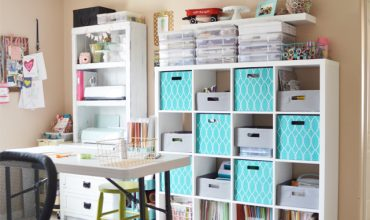 Cute & Functional Craft Room on a Budget