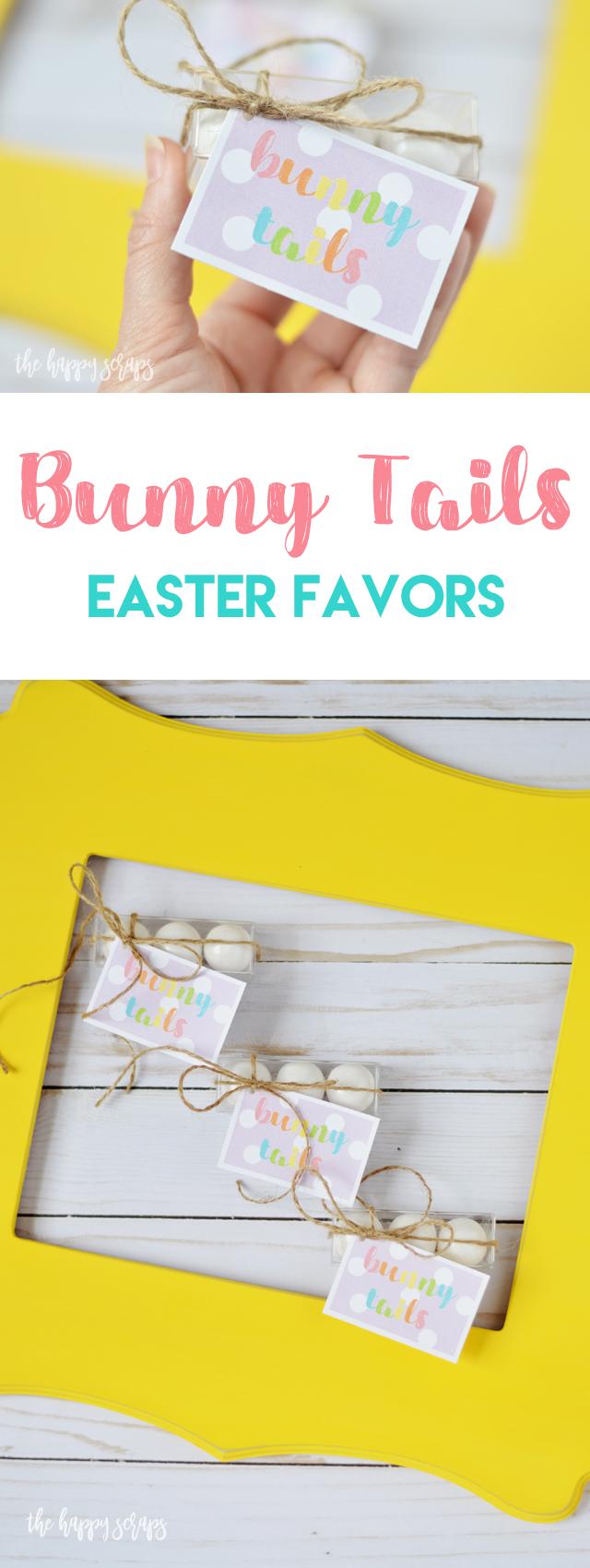 Need a little favor for an Easter get together? Check out this cute little Bunny Tails Easter Favor idea that is perfect for sharing with everyone.