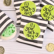 It's Your Lucky Day St. Patrick's Day Printable Tag