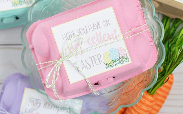 Egg Carton Easter Gift