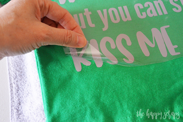 A fun shirt for any holiday is always a good idea, right? This Toddler St. Patrick's Day Shirt is the perfect thing for a cute little one to wear.