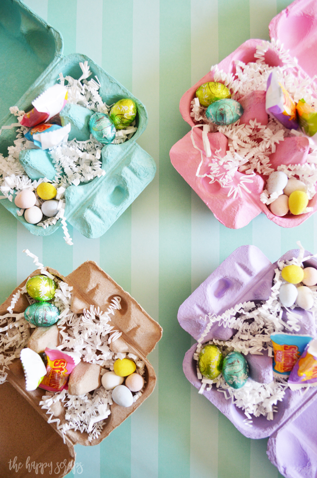 If you need a fun little gift to give a family member, friend, or neighbor this Easter, then you need to put together this fun Egg Carton Easter Gift. Fill it with all of your favorite Easter treats!