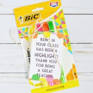 Highlighter Teacher Appreciation Gift