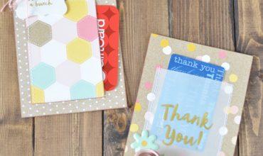 End of Year Teacher Gift – Gift Card Holder