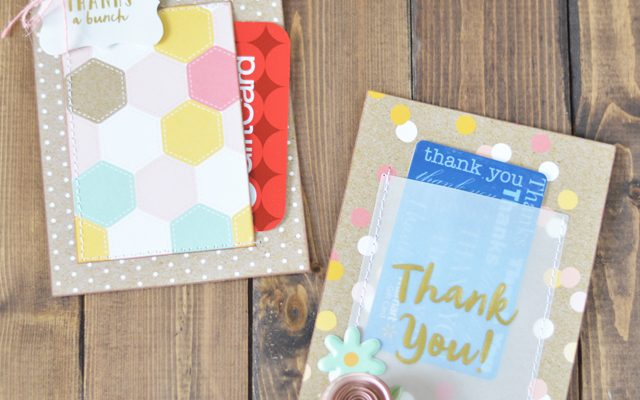 End of Year Teacher Gift – Gift Card Holder
