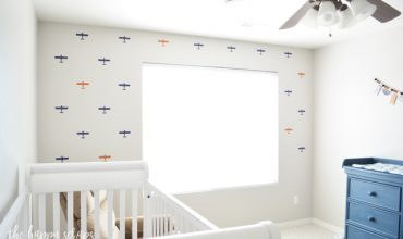 Airplane Accent Wall