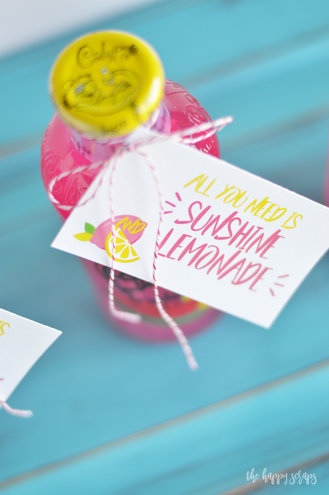 Sometimes you just need a little something to give to a friend! This Just Because - Lemonade Gift is the perfect way to brighten someones day.