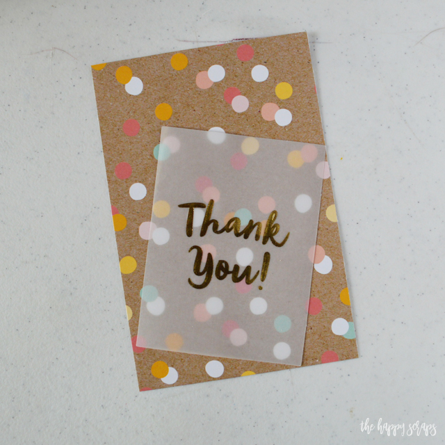 Gift cards are always a good gift idea. Stop by the blog to see how easy this End of Year Teacher Gift - Gift Card Holder is to put together. Teachers will love it!