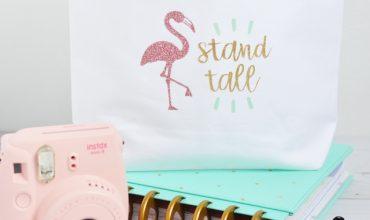 Flamingo Mini Tote