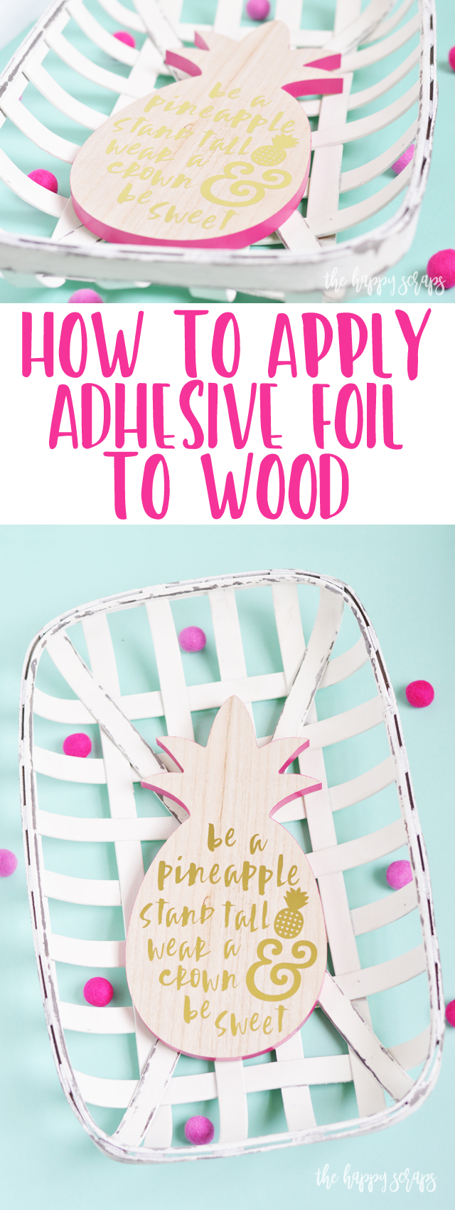 Have you ever wondered How to Apply Adhesive Foil to Wood? Well, I'm showing you. Stop by and get the details. It's so simple!