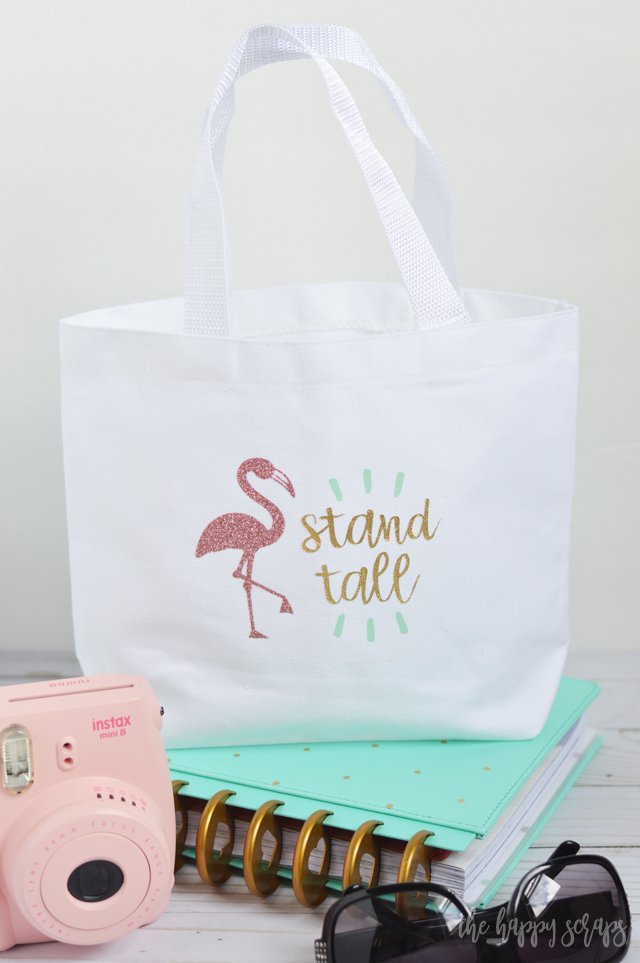 Everyone needs a little Flamingo in their life, right? This Flamingo Mini Tote is the perfect little tote for carrying around anything you might need with you. Plus, it's perfect for a little girl!