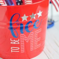 4th of July Fun Bucket