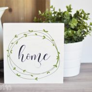 Simple Painted Farmhouse Sign
