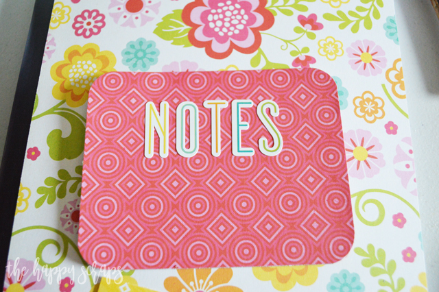 This Embellished Composition Notebook is a quick and easy project that is fun to put together as well. Stop by the blog and see how to make your own!