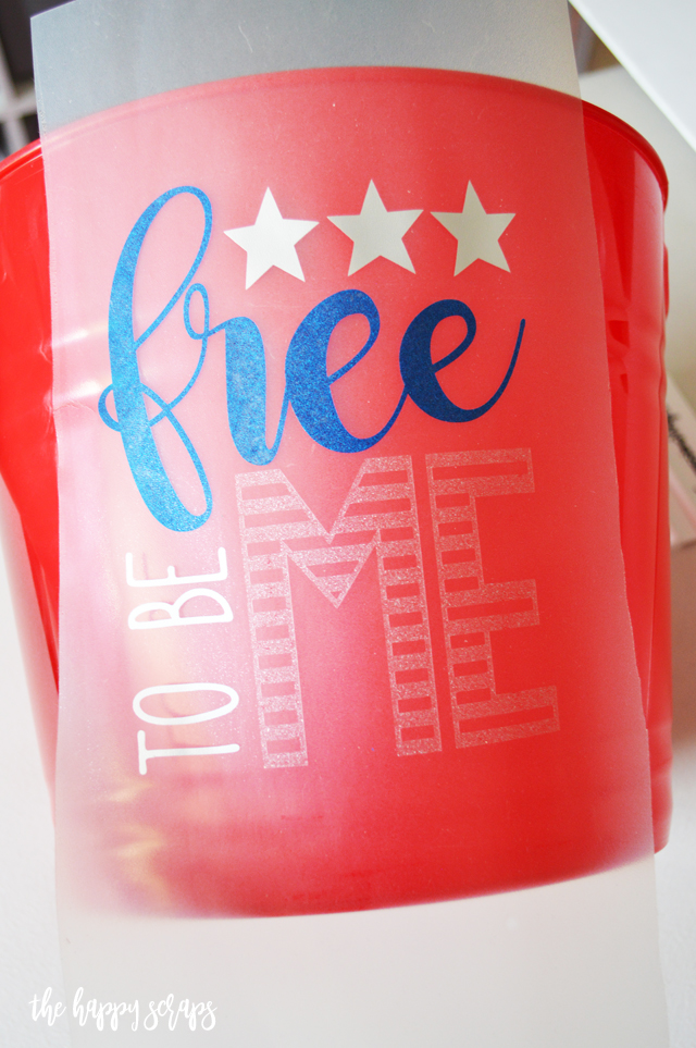 Creating a 4th of July Fun Bucket is simple and quick! Get a bucket and add a fun vinyl saying to the front. You'll have it made in minutes!