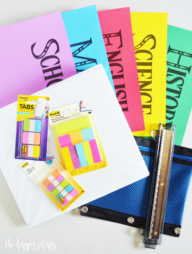 If your teenager is anything like mine, then this Simple Organization Binder is sure to help them stay organized this school year!