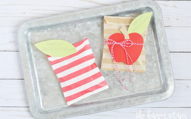 Back to School Paper Sack Treat Bags